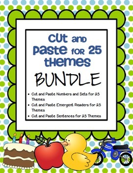 Cut and Paste for 25 Themes BUNDLE