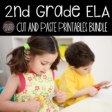 2nd Grade Language Arts Worksheets - Cut and Paste Activities
