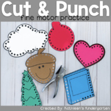Cut and Punch Fine Motor Skill Practice