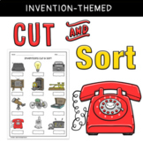 Cut and Sort Activity {Inventions} - Year 2 History/Technologies