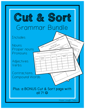 Cut and Sort Grammar Bundle