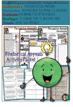 Rhetorical Appeals - Media Literacy Activity Packet