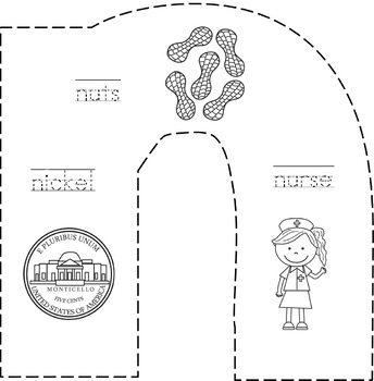Cut and Staple Lowrcase n Activity Book