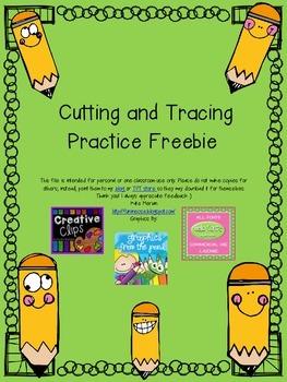 Cut and Trace Freebie