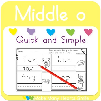 Cut and Trace: Middle o