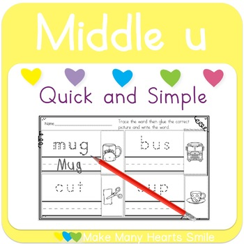 Cut and Trace: Middle u