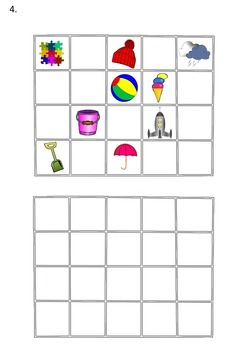 Visual Discrimination Worksheets.