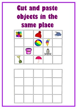 Visual Discrimination Worksheets.