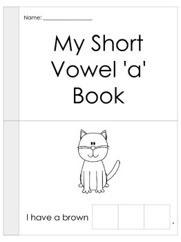 Cut and paste short vowel a