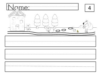 Cut and paste sight word sentences- nursery rhymes