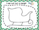 Cut and trace winter objects. Mitten,lights,sleigh, fine motor, sped k123