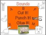 Cut it! Punch It! Glue it! Beginning Sounds