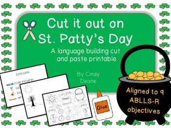 Cut it out on St. Patty's Day: A language building cut and