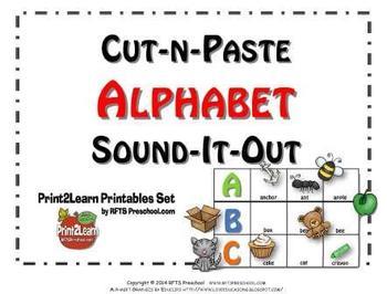 Cut-n-Paste ALPHABET: Sound it Out