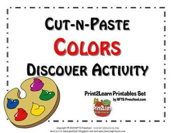 Cut-n-Paste COLORS: Discovery Activity