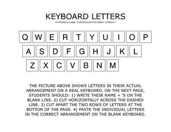 Cut 'n' Paste Keyboard