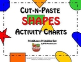 Cut-n-Paste SHAPES: Activity Chart