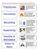 Cut-n-Paste Vocabulary: Physical and Chemical Changes