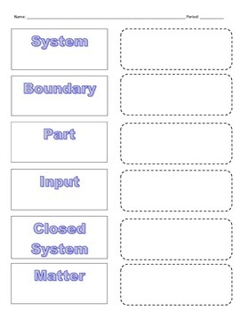 Cut-n-Paste Vocabulary: Systems