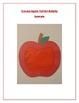 Cut-out Apple: Fall Art Activity