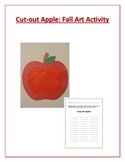 Cut-out Apple: Fall Art Activity
