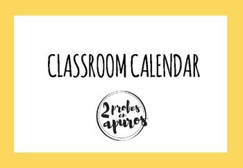 Cut-out calendar