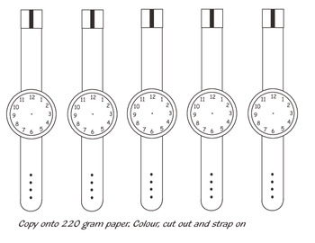 Cut out watches