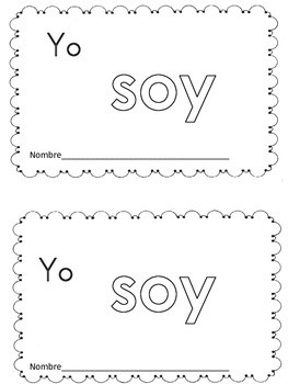 Spanish high frequency words mini books. Libritos de palabras de uso frecuente