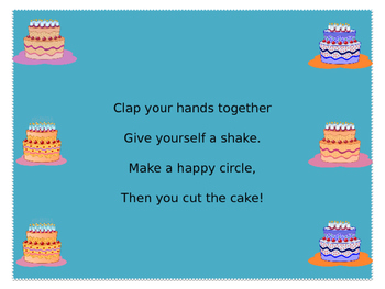 Cut the Cake- practicing with ta, titi, and rest
