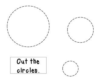 Cut the circles