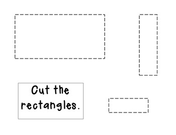 Cut the rectangles