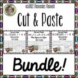 Cut-Paste 1-30, 1-50, 51-100 Charts, By 2s, 5s... BUNDLE! #bundleupwithtpt