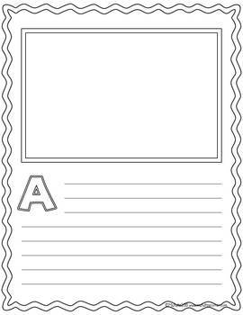 Massif image pertaining to printable abc book template