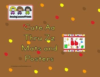 Cute Aa Thru Zz Mats and Posters