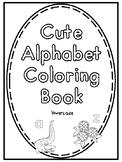 Cute Alphabet Coloring Book
