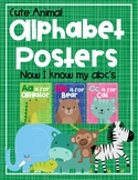 Cute Animal Alphabet Posters