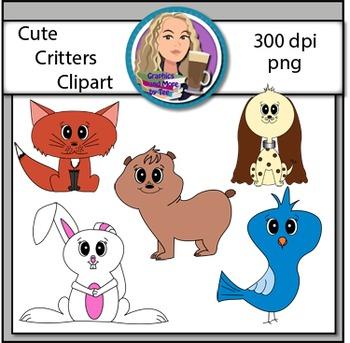 Cute Animal Critter Clipart