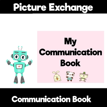 Cute Animal themed Communication Book starter set