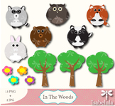 Cute Animals - Bear, Rabbit, Skunk, Fox, Owl and more! 13