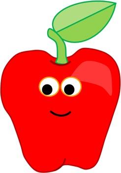 Apple (Cute Clipart)
