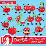 Cute Apple Math Symbol Digital Clipart