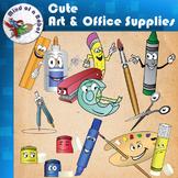 Cute Art & Office Supplies Clipart