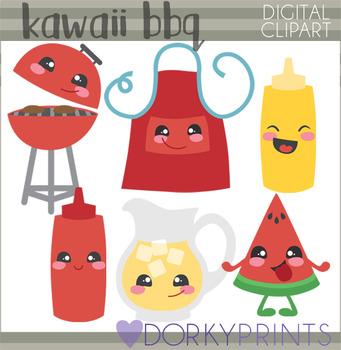 Cute BBQ Clipart