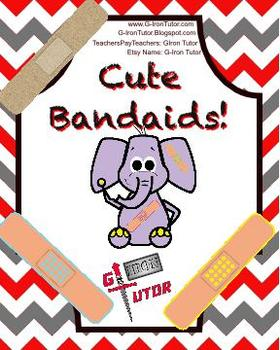 Cute Band Aid Clip Art