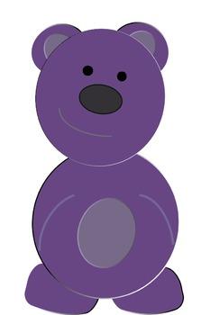 Cute Bears Clip Art Commercial Use OK