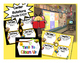Cute Bee Themed Math Stations automated powerpoint for small group math