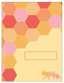 Cute Binder Cover