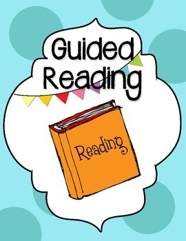 Cute Binder Covers for Guided Reading, Writing, and RTI