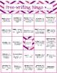 Writing Bingo Boards | 100+ Prompts
