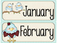 Cute Birds Calendar Decor Bundle